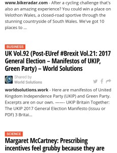 UKIP, GreenParty