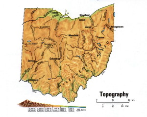 Ohio5 topographic