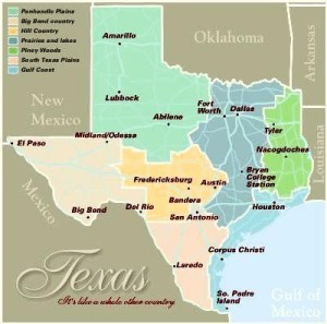 Texas6 areas