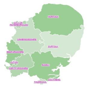 EastOfEngland region