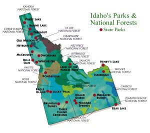 Maps Of Idaho visit idaho maps and images 600 X 531 pixels - Printable Map HD