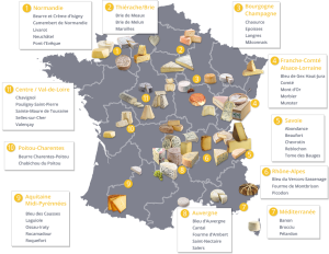 France17 food regions strength