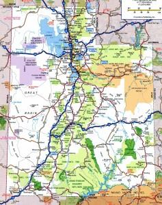 Utah1 roads