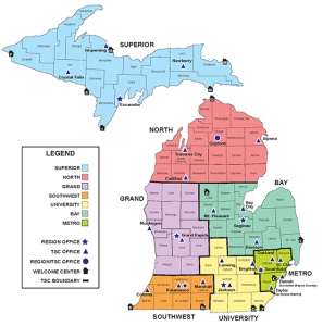 Michigan8 MDOT_Regions